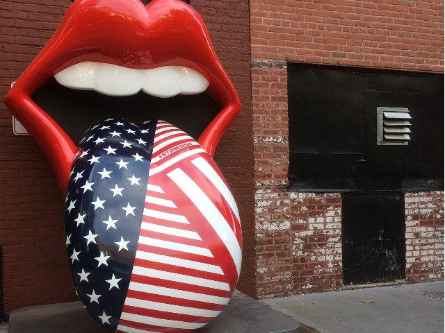 Esta semana en Nueva York una exhibición de los Rolling Stones
