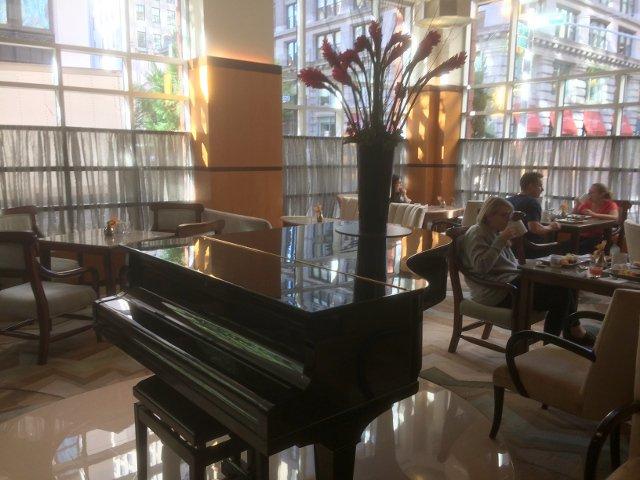 Lobby en el Hotel Giraffe Nueva York