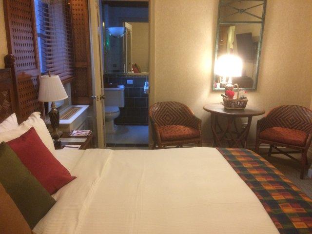 Nuestra habitación en el Casablanca Hotel Nueva York