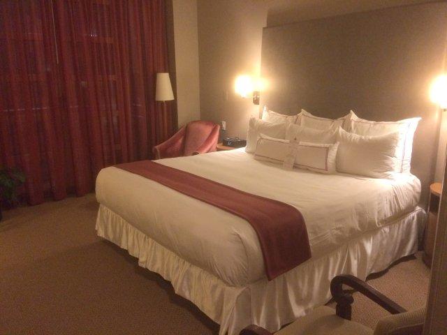 Nuestra habitación en el Hotel Giraffe Nueva York