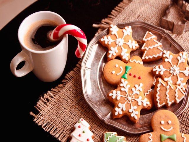 Una de las comidas navideñas en Nueva York es la galleta