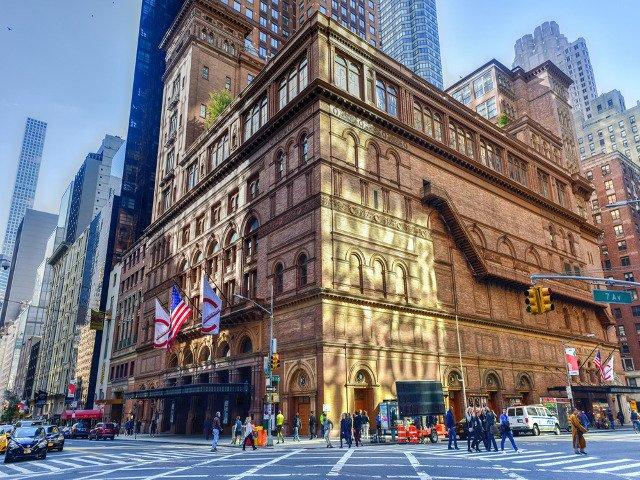 Carnegie Hall es uno de los lugares que visitar en la nueva extension de la linea Q en Nueva York