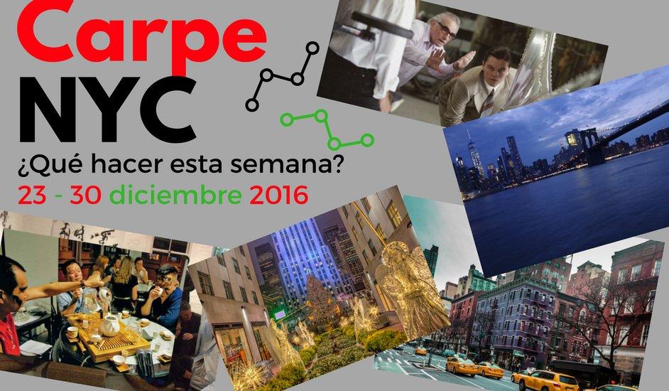 Carpe NYC 23-30 diciembre 2016