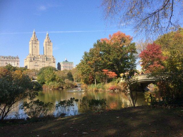 Central Park está muy cerca del Hotel Belleclaire en el Upper West Side de Nueva York