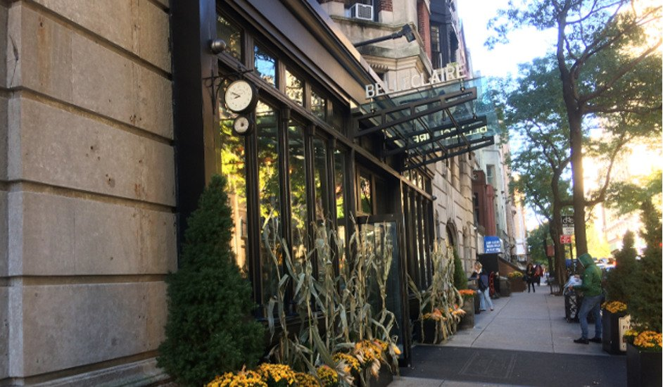 Entrada del Hotel Belleclaire Nueva York