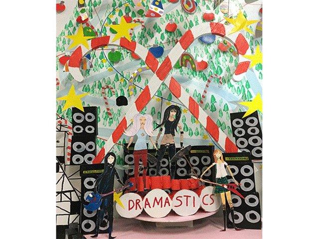 Esta semana en Nueva York una exhibicion de arte navideño para adultos