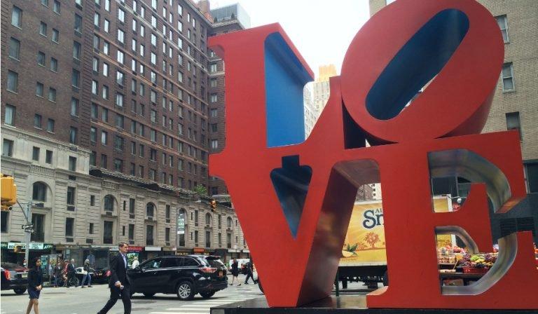 Celebrar San Valentín en Nueva York