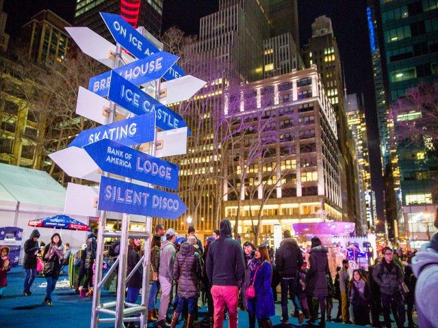 Esta semana en Nueva York el carnaval del invierno en Bryant Park