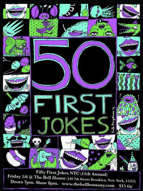 Esta semana en Nueva York puedes reírte con 50 first jokes