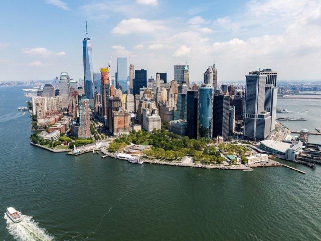 Un San Valentín en helicóptero por Nueva York