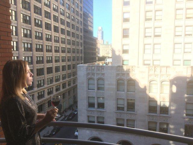 Un propósito de año nuevo en Nueva York es vivir en el momento