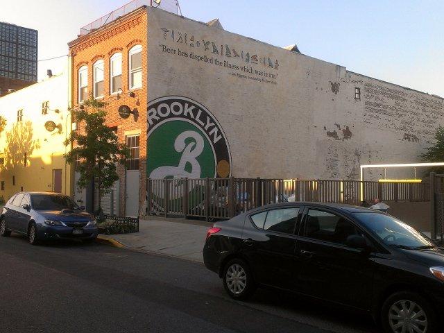 El Brooklyn Brewery es otro lugar para escaparse del frío en Nueva York