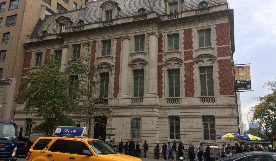 Exterior Neue Galerie Nueva York