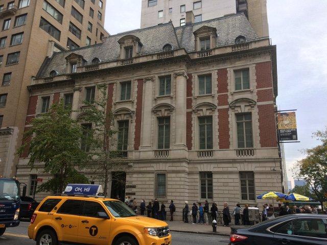 La galería Neue en Nueva York es un sitio para escaparse del frío
