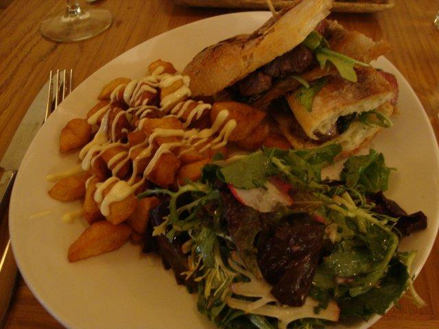 Nuestra comida en Restaurante La Boqueria Flatiron Nueva York