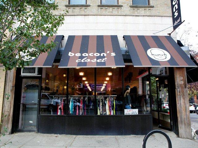 Una tienda de segunda mano es un buen sitio para escaparse del frío en Nueva York
