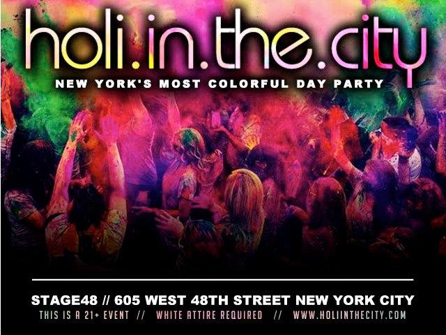 Esta semana en Nueva York celebrar Holi