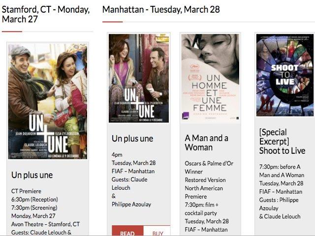 Esta semana en Nueva York un festival de cine francés