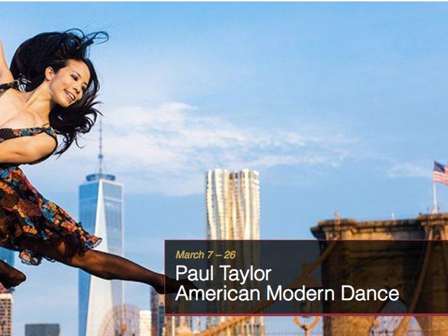 Esta semana en Nueva York el Paul Taylor American Modern Dance en Lincoln Center