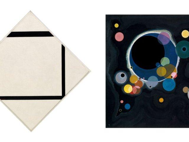 Visionarios Mondrian Kandinsky en el Museo Guggenheim Nueva York