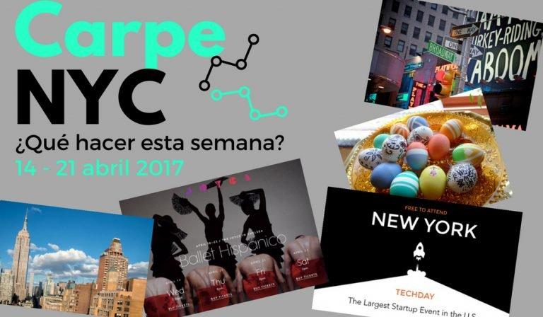 Carpe NYC 14 - 21 abril 2017