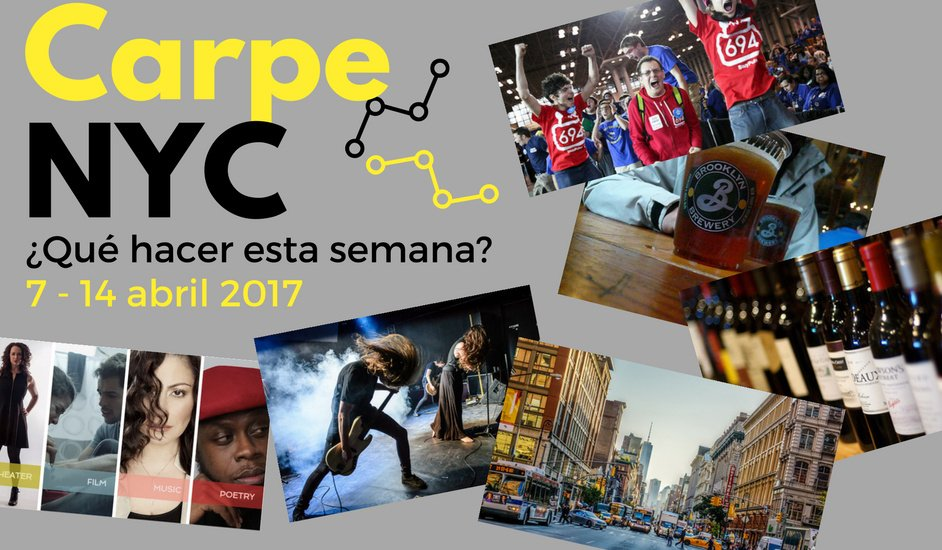 Carpe NYC 7-14 abril 2017