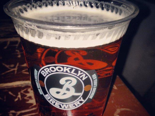 Cerveza del Brooklyn Brewery