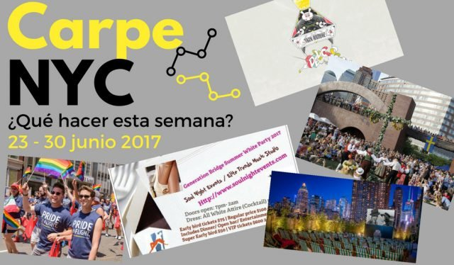 Carpe NYC 23 - 30 junio 2017