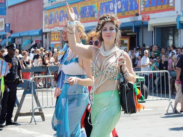 Esta semana en Nueva York es el desfile de sirenas