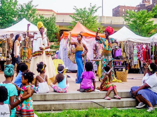 Festival de arte africano en Nueva York