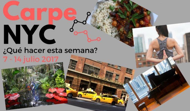 Carpe NYC 7-14 julio 2017