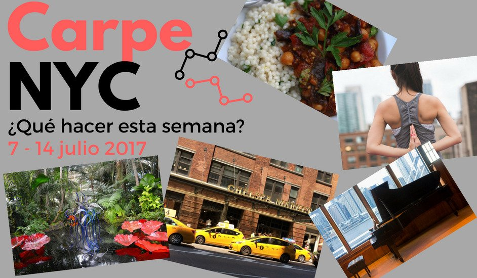 Carpe NYC 7-14 julio 2017
