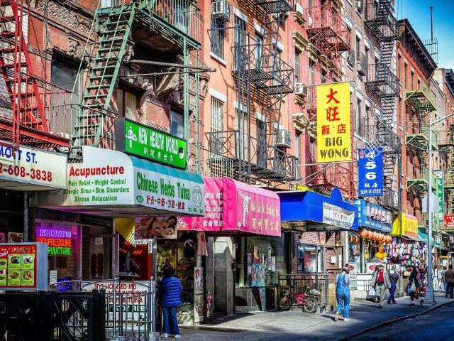 Qu Ver En Chinatown Nueva York Dim Sum Regateo Y Farolillos