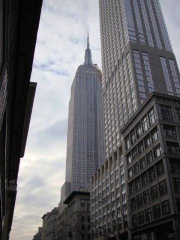 El Empire State desde la calle