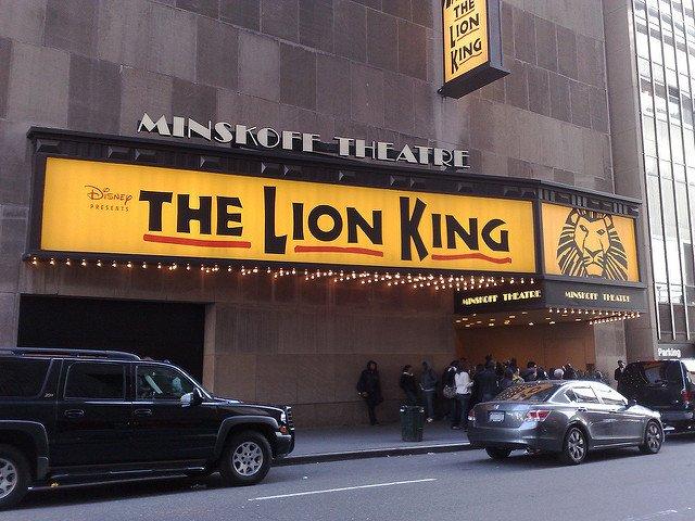 El Rey Leon es un espectáculo de Broadway para familias