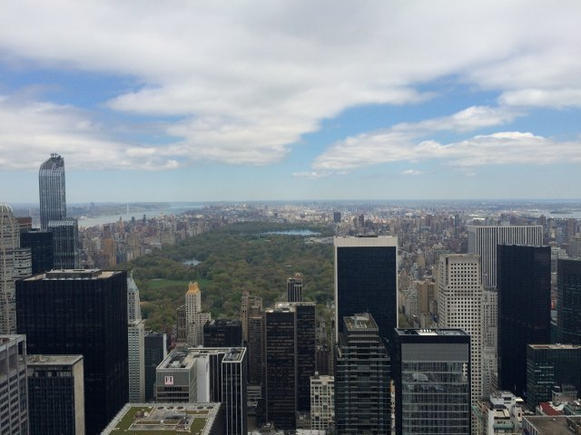 Vistas de Central Park desde Top of the Rock