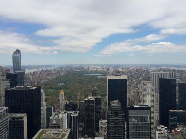 Vistas de Central Park desde Top of the Rock