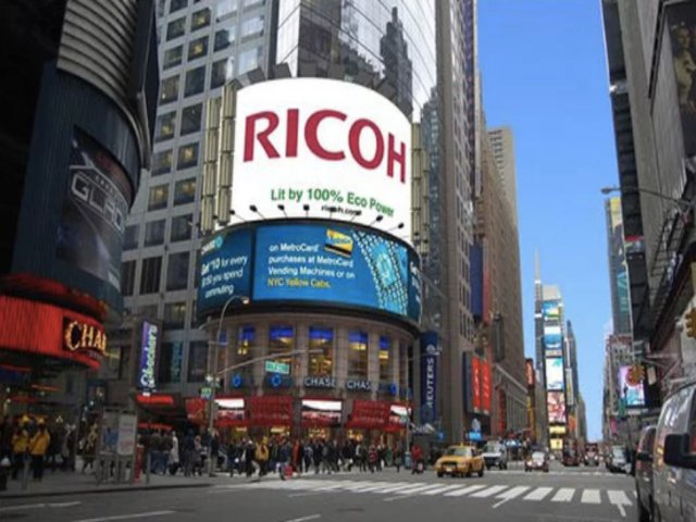 Eco Cartel en Times Square