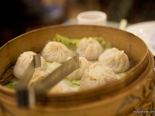 Joes Shanghai empanadillas de sopa Flushing Queens