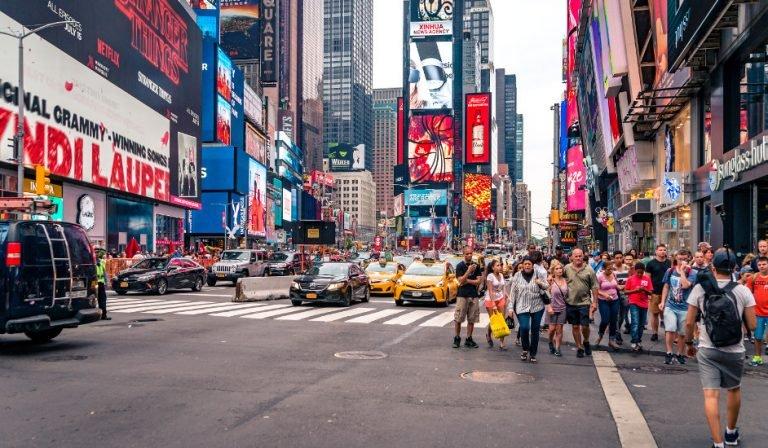 Times Square Portada