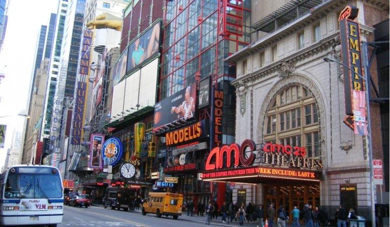 Teatro AMC Times Square Nueva York