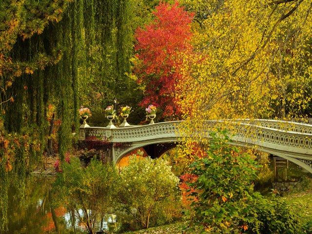 Un consejo para ahorrar dinero en Nueva York es disfrutar de los parques