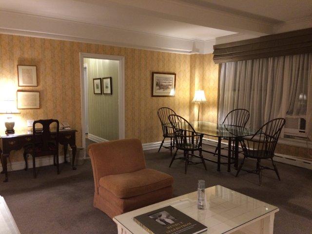 Salón comedor en el Hotel Roger Smith Nueva York