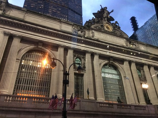 Grand Central Station visto desde The Ride con la New York Pass
