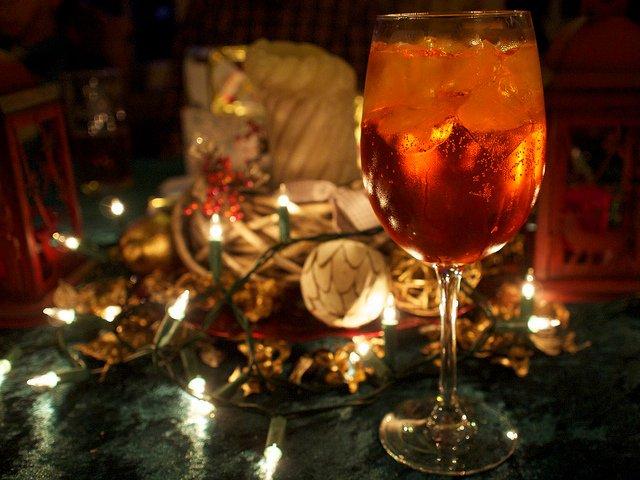 Cóctel navideño Jingle Ball