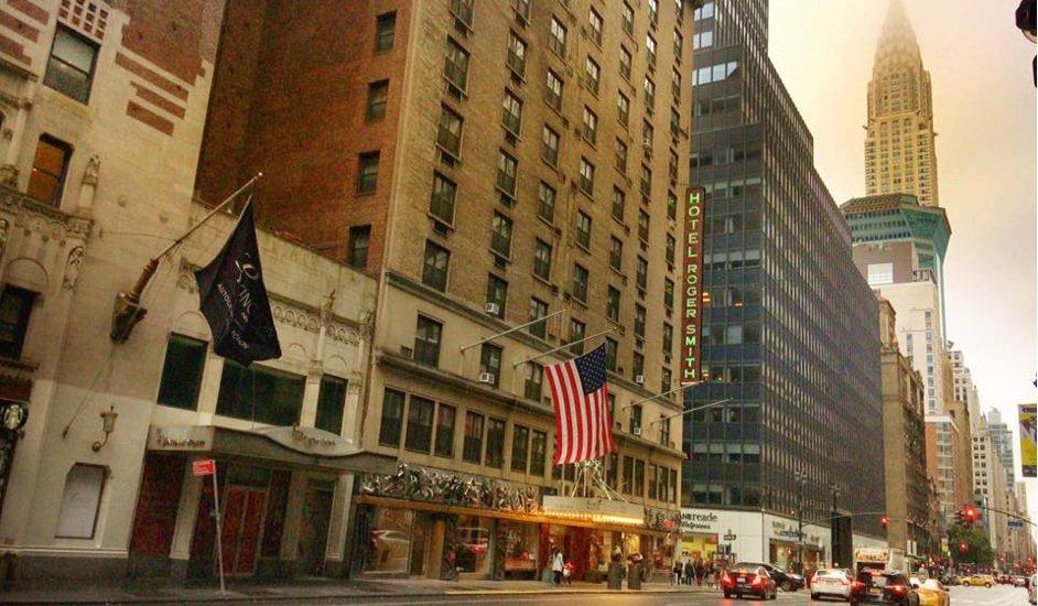 Hotel Roger Smith, ambiente único en pleno corazón de Manhattan