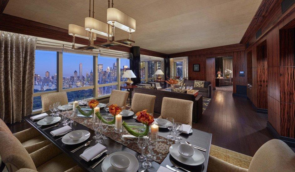 Suite Presidencial del Hotel Mandarin Nueva York