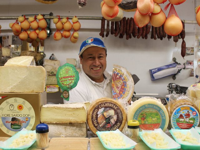 Calandra Cheese Shop en Arthur Avenue Bronx