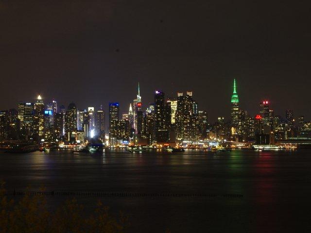 Vistas de Manhattan desde Nueva Jersey