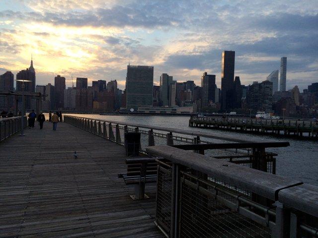 Vistas de Nueva York desde Gantry Plaza